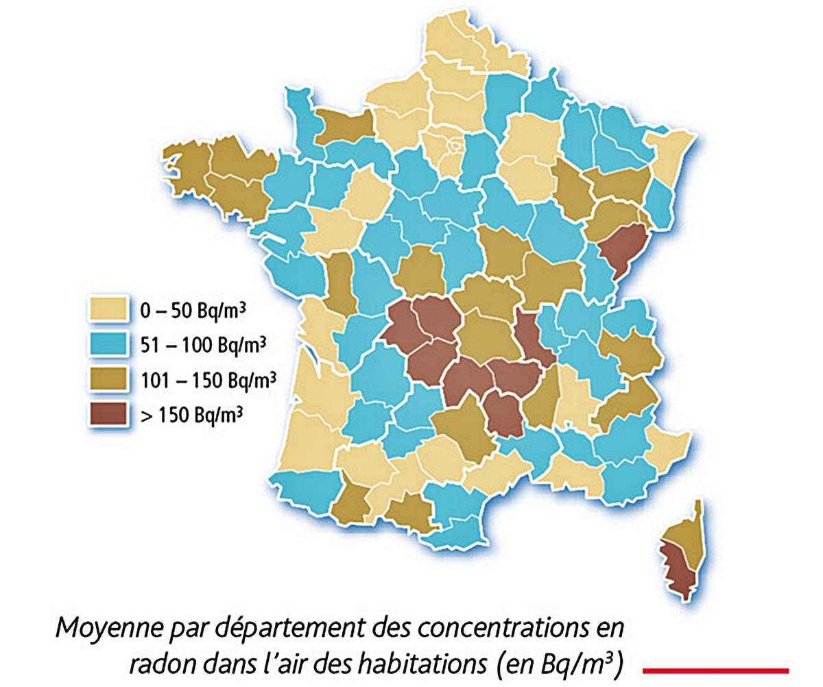 radon carte France irsn